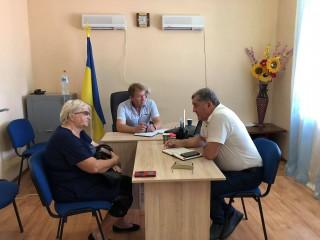 Селищний голова Олександр Тертишний провів виїзний прийом громадян у с. Ізюмське